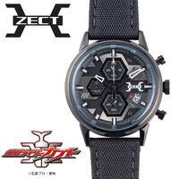 仮面ライダーカブト ZECTイメージ クロノグラフ腕時計