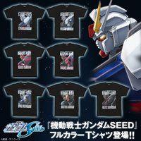 機動戦士ガンダムSEED フルカラーTシャツ 【2021年9月発送】