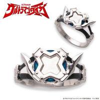 ウルトラマントレギア カラータイマーデザイン silver925リング