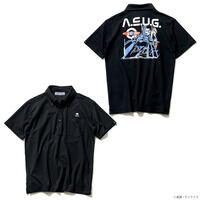 STRICT-G『機動戦士ガンダムZZ』 ポケットボタンダウンポロシャツ ZZガンダム