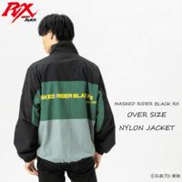 仮面ライダーBLACK RX オーバーサイズ ナイロンジャケット