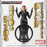 アクリルロゴディスプレイEX Marvel ヒーローマーク ブラック・ウィドウ マーク