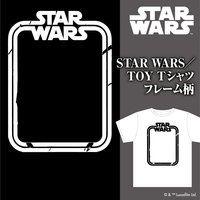 STAR WARS スター・ウォーズ TOY Tシャツ フレーム柄