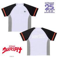ウルトラマンダイナ スーパーGUTS イメージ メッシュTシャツ