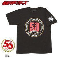 仮面ライダーセイバー&仮面ライダー50th マークTシャツ サークル柄 1号〜セイバー