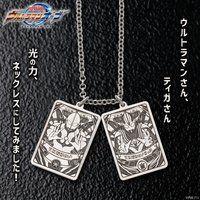 ウルトラマンオーブ silver925 フュージョンカードモチーフネックレス【4次受注:21年12月発送分】