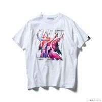 STRICT-G『機動戦士ガンダム 閃光のハサウェイ』 Tシャツ 箔グラデーション ペーネロペー【3次:2021年12月発送】