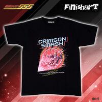 FinisharT 仮面ライダーファイズ クリムゾンスマッシュ Tシャツ