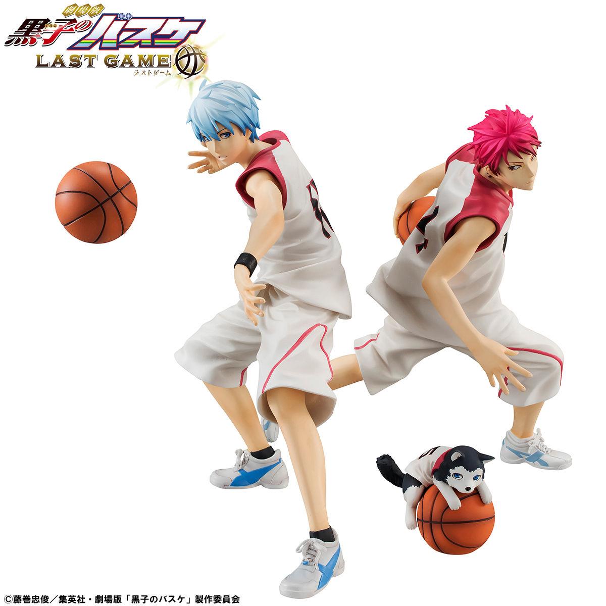 黒子のバスケフィギュアシリーズ 黒子赤司テツヤ2号クリアファイル
