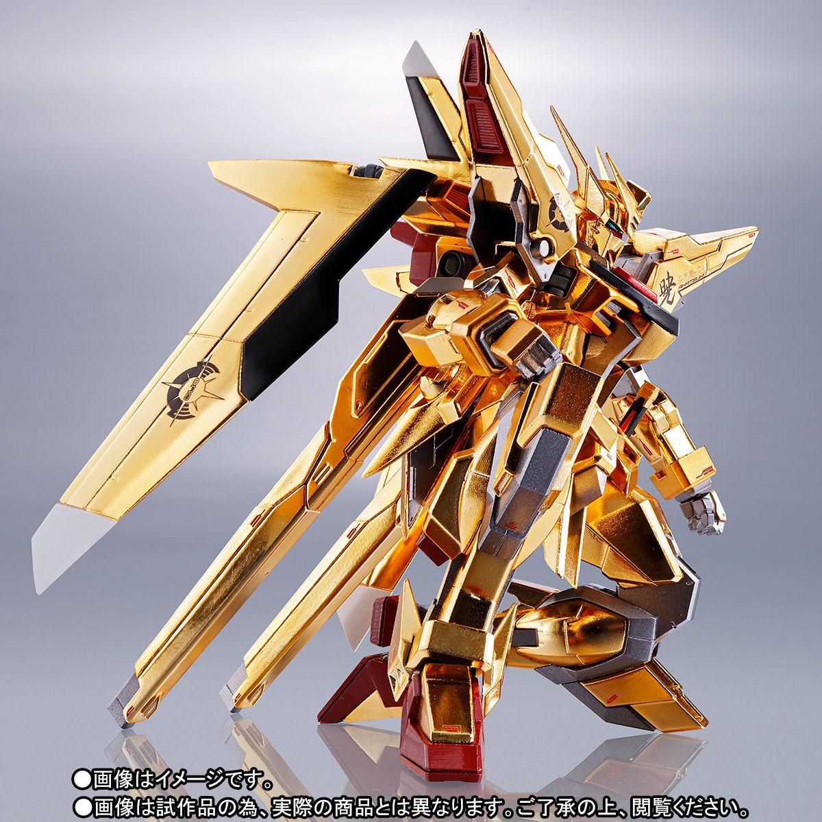耀眼的曙光降世!METAL ROBOT魂《機動戰士鋼彈SEED DESTINY》ORB-01 曉鋼彈(大鷲裝備)|アカツキガンダム(オオワシ装備)