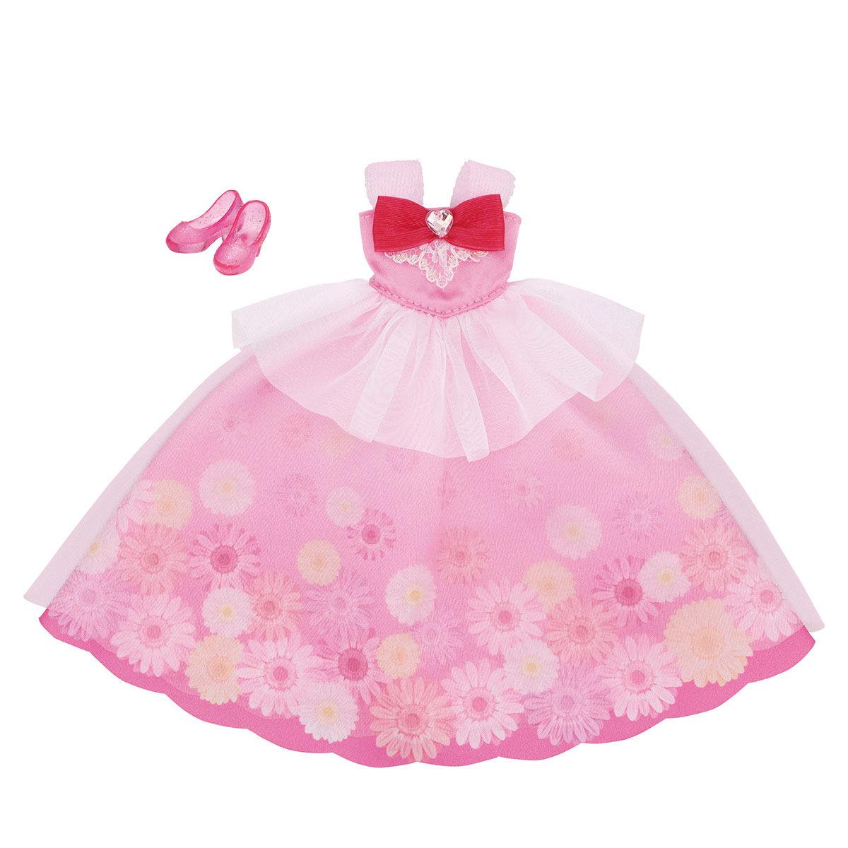 プリキュアスタイル フラワーロングドレス