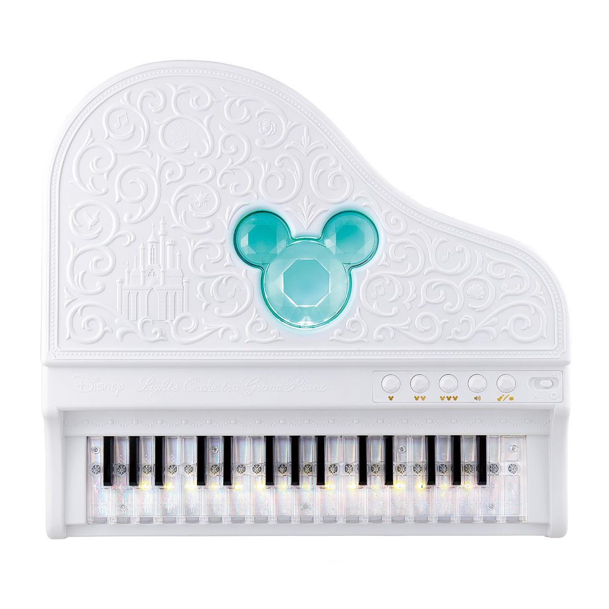ディズニー&ピクサーキャラクターズ ライト&オーケストラグランドピアノ