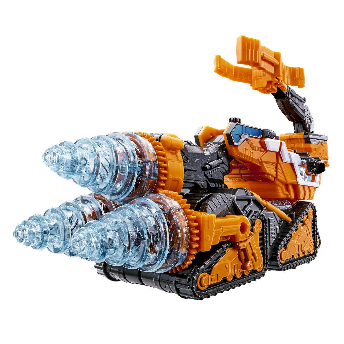 魔進変形 DXギガントドリラー 魔進武装セット