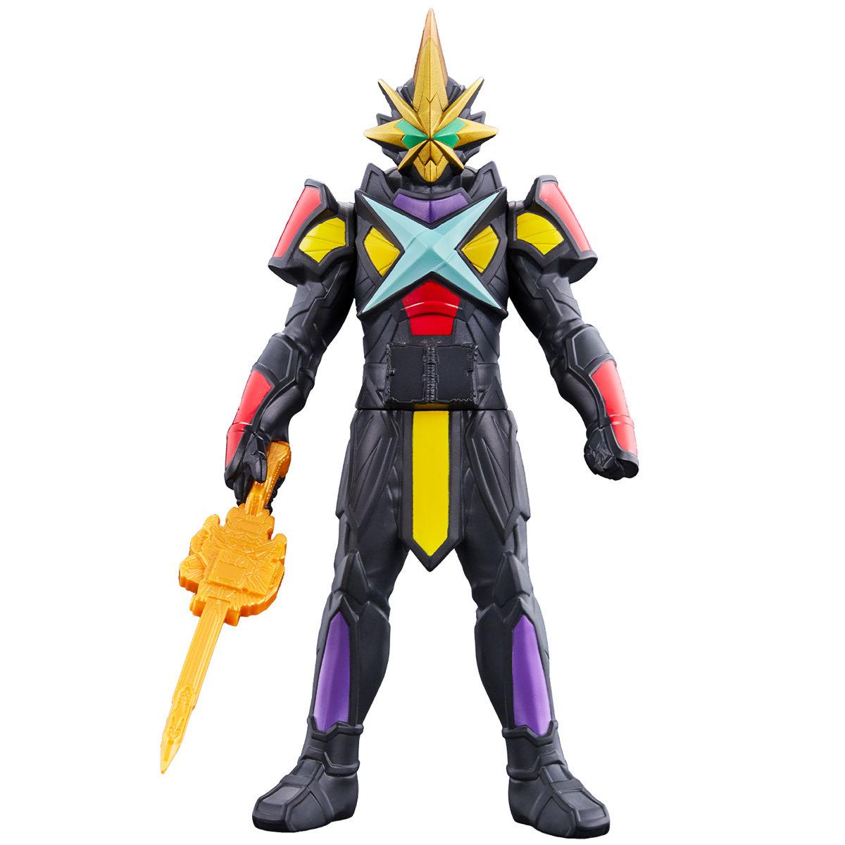 ライダーヒーローシリーズ07  仮面ライダー最光 エックスソードマン