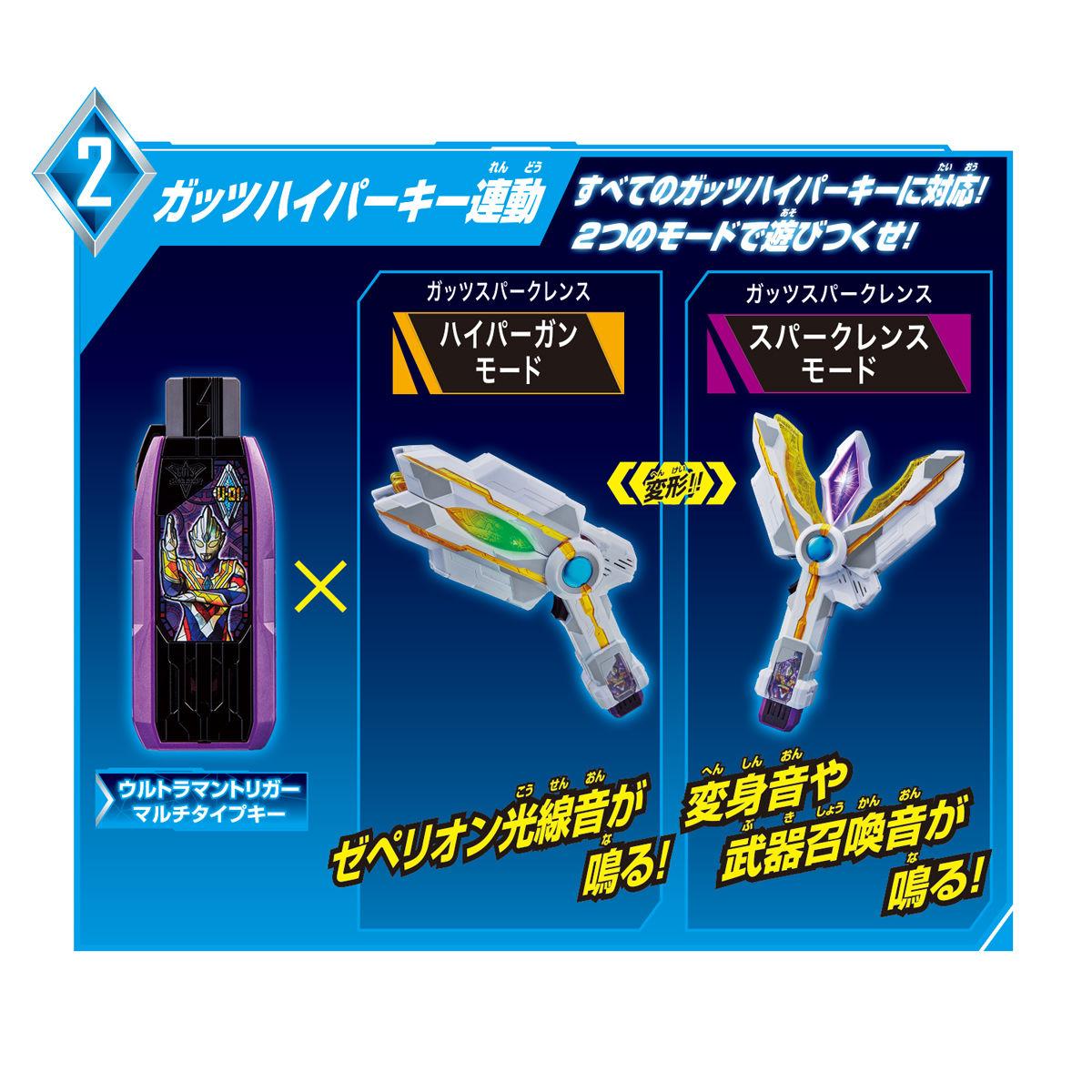 ウルトラマントリガー DX最強なりきりセット